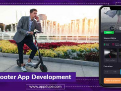 Uber for e-scooters Application