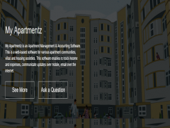 My Apartmentz – Web based society management