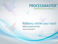 PROCESSMASTER Customer & Sales