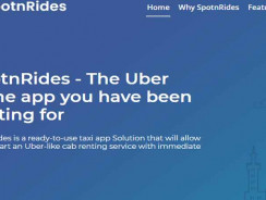 SpotnRides – Top Uber Clone Solution