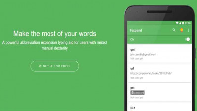 Texpand – The Must Have Productivity App