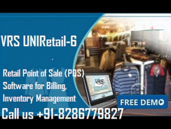 VRS Software | Retails | POS | Garment | FMCG